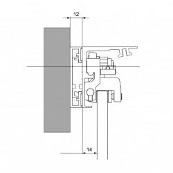 SoftClose / Dormotion für Dorma Muto Laufsachienensystem