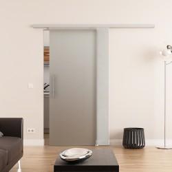 hochwertiges Glasschiebetürensystem komplett DORMA Muto 775 x 2050 mm
