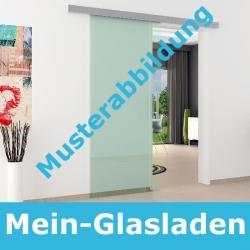 Glasschiebetür Aluminium-Schienensystem Beschlag- 2000 mm Länge